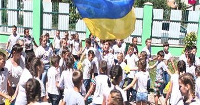 #Українаназавжди, #foreverUkraine, #УДЦНПВ Україна назавжди. Флешмоб до Дня Незалежності України
