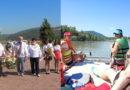 """З Україною в серці: педагоги відвідали парк """"Красне поле"""" та здійснили сплав Тисою"""