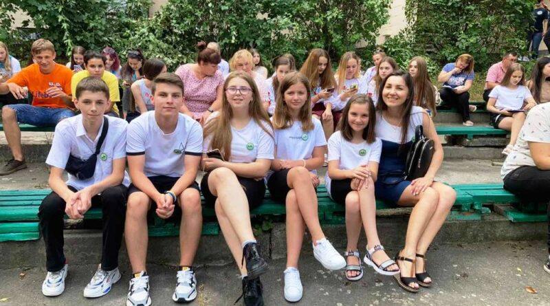Юннати ЗОЕНЦ стали учасниками Всеукраїнського збору лідерів дитячого екологічного парламенту